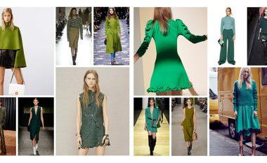 Ngjyra të cilën femrat frikësohen ta bartin: Kur t'i kombinoni nuancat më të bukura të së gjelbrës?