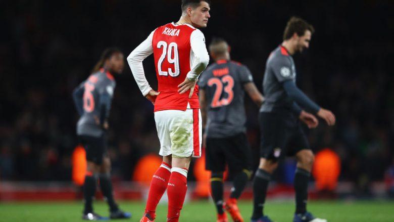 Ish-futbollisti i Arsenalit: Shiteni Xhakën