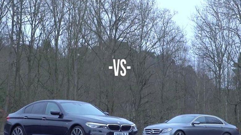Krahasimi i modeleve të fundit nga Mercedes dhe BMW (Video)