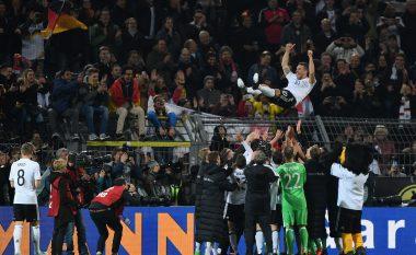 Gjesti i Joe Hart, e uroi Podolskin për golin fantastik (Foto/Video)