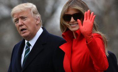 Vjen reagimi i Zonjës së Parë pas spekulimeve se nuk fle në një dhomë me Trump