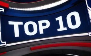 Natë e 'çmendur' në NBA: Këto janë Top 10 aksionet e xhiros së mbrëmshme (Video)