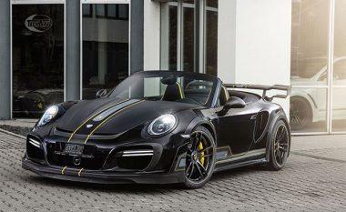 Porsche 911 me kuajfuqi të shtuara dhe pa tavan (Foto)
