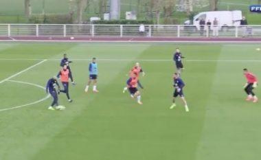 Tiemoue Bakayoko fantastik në stërvitje me Francën, nuk është çudi pse Chelsea dhe Unitedi e duan (Video)