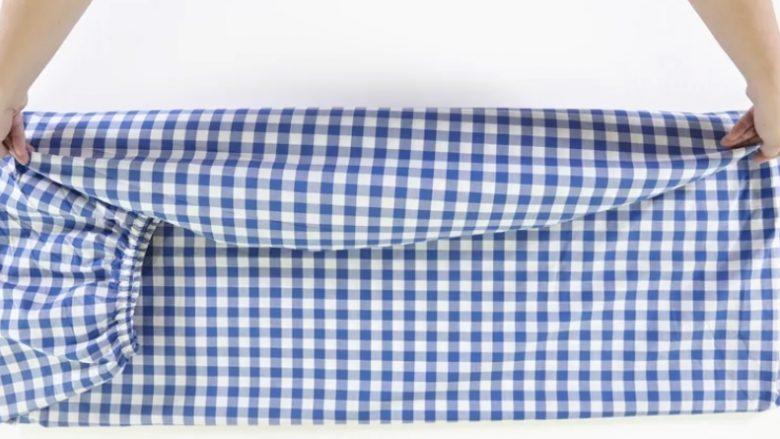 Si t'i palosni çarçafët shpejt dhe lehtë? (Video)