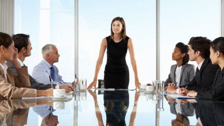 Femrat janë lidere më të mira sesa meshkujt