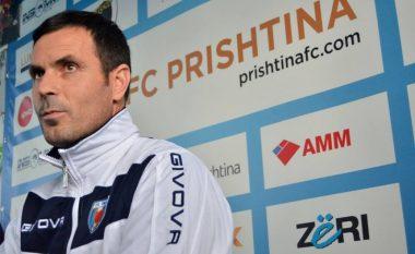 Arsim Thaçi flet për herë të parë si trajner i Prishtinës