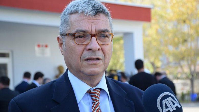 Ambasadori turk: FETO, rrezik i madh për sigurinë kombëtare të Shqipërisë