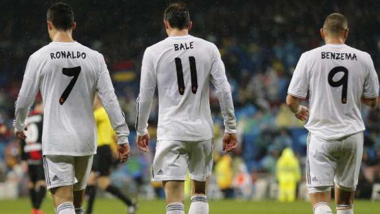 Statistikat tregojnë se Reali luan më mirë pa BBC (Foto)