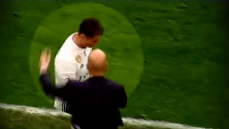 Mësohet se çfarë tha Ronaldo i nervozuar pas zëvendësimit nga Zidane ndaj Bilbaos (Video)