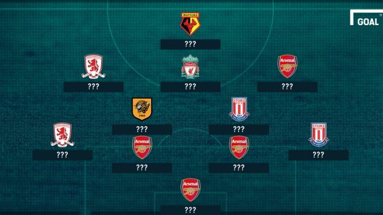 Mustafi pjesë e formacionit të dështakëve të Ligës Premier për javën e 28-të (Foto)