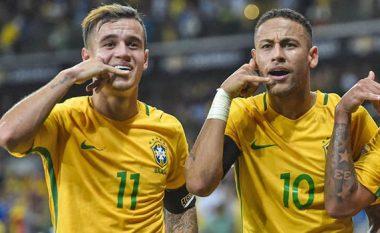 Coutinhos i pëlqen të luaj me Neymarin: Vetëm ia pasojmë topin, ai e kryen