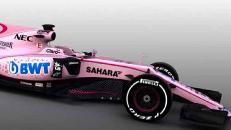 "Force India bëhet ""pink"""