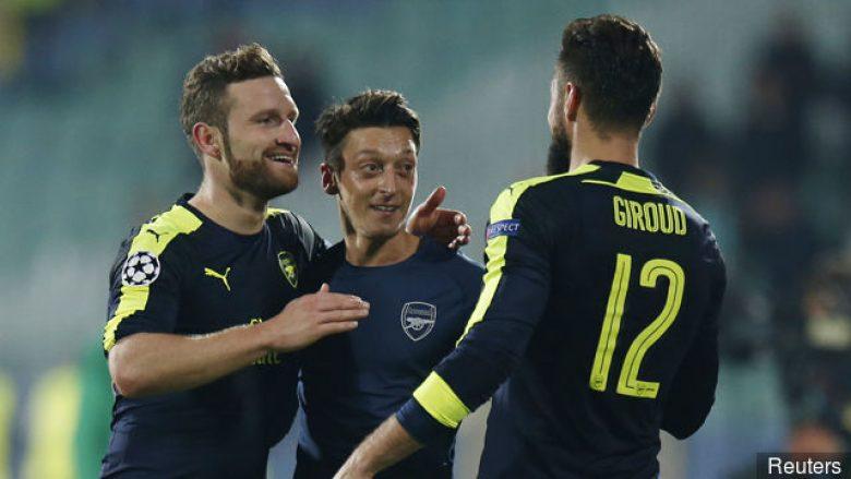 Giroud shpreson në qëndrimin e Wengerit te Arsenali