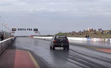 """""""Raketë në rrota"""": A është ky Golf 2 më i shpejti në botë? (Video)"""