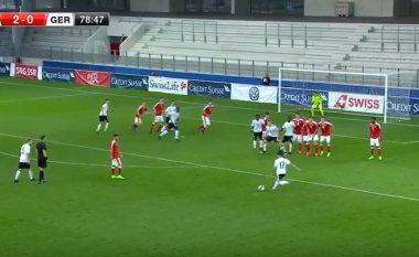 Supergoli i talentit shqiptar të kombëtares së Gjermanisë kundër Zvicrës (Video)
