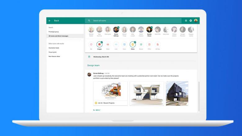 Google Hangouts Chat, rivali i ri i Slack dhe Microsoft Teams