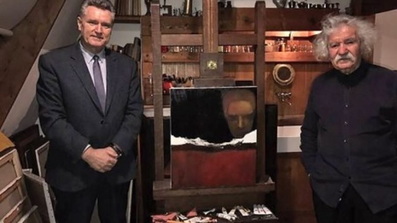 Hoti takoi në Francë piktorin me famë botërore, Omer Kaleshi