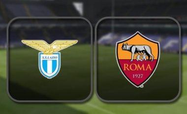 Lazio – Roma, formacionet zyrtare