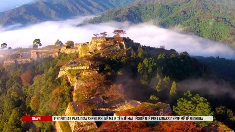 Takeda, kështjella mbi re, e ndërtuar para disa shekujve (Video)