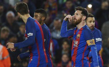 Barcelona 'mbushet' mend, gati t'i ofrojnë super-pagë Messit në kontratën e re