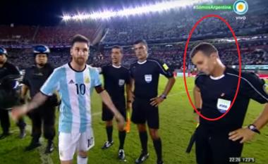 Gjesti i Messit kundër gjyqtarit po bën xhiron e botës (Video)