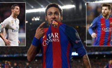 """""""Neymar është më i mirë se Messi dhe Ronaldo"""""""