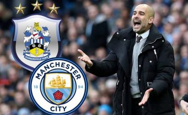 Manchester City – Huddersfield Town, formacionet zyrtare