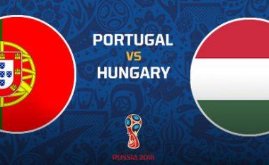 Portugali – Hungari, formacionet startuese