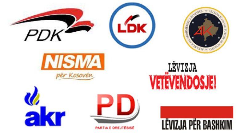 Përfaqësuesit e partive politike u takuan në Tiranë