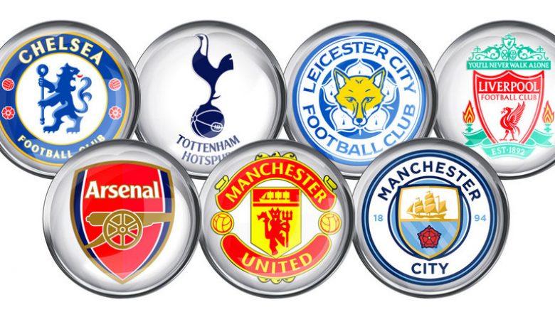 Futbollistët që kanë kompletuar më shumë pasime në Ligën Premier për vitin 2017