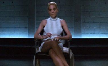 """Regjisori tregon të vërtetën nëse Sharon Stone kishte të brendshme në skenën e filmit """"Basic Instict""""(Video)"""