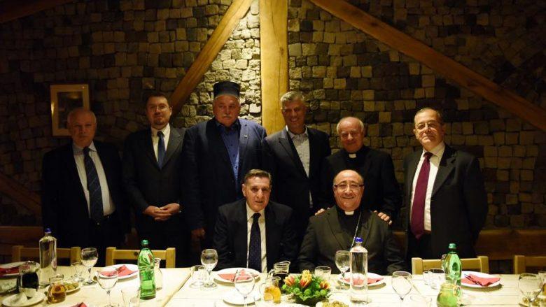 Thaçi: Monsignor Vincenzo Paglias, mik i vërtetë i Kosovës