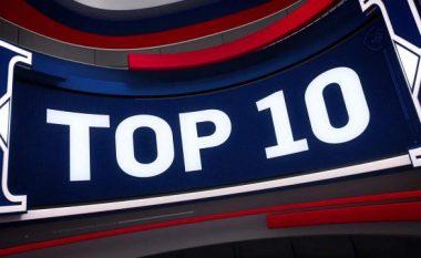 Aksione, ngulitje dhe spektakël: Këto janë Top 10 aksionet e mbrëmshme në NBA (Video)