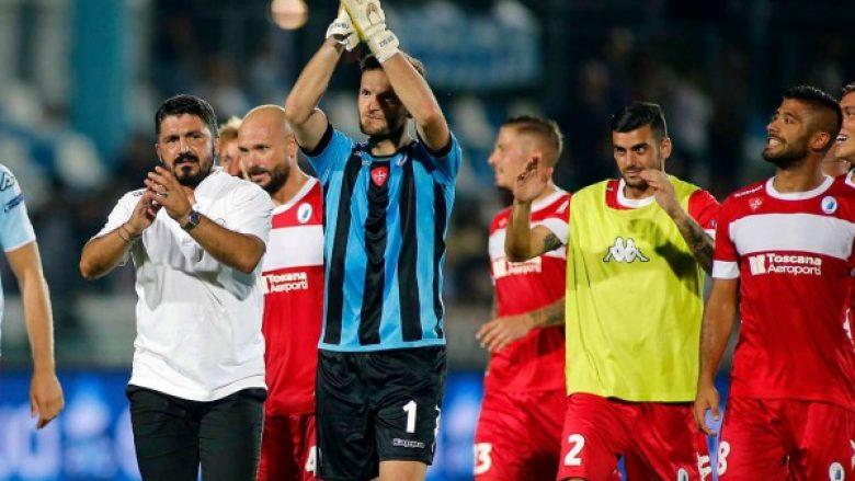 Federata dënon përsëri klubin e shqiptarëve dhe Gattussos, tani rrezikojnë rënien nga kategoria