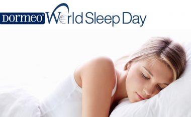 Dormeo Feston Ditën Boterore të Gjumit, dhe është sponsori krenar i kësaj dite