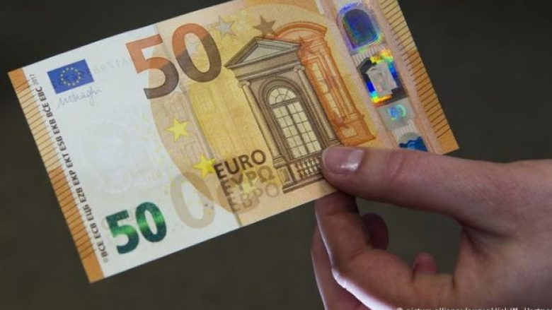 Del bankënota e re prej 50 euro