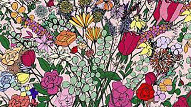 A mund ta gjeni në këtë imazh vezën e fshehur në mesin e qindra luleve (Foto)
