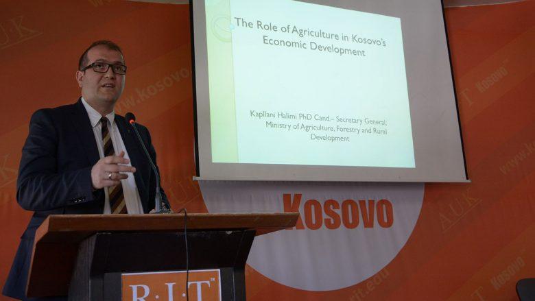 Halimi: Bujqësia sektor që po kontribuon në rritjen ekonomike