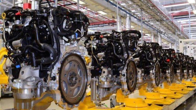 Jaguar fillon prodhimin e motorit të ri me katër cilindra