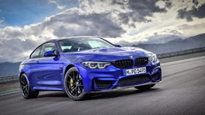 BMW prezanton M4 CS: Më shumë fuqi, më pak kilogram (Foto)