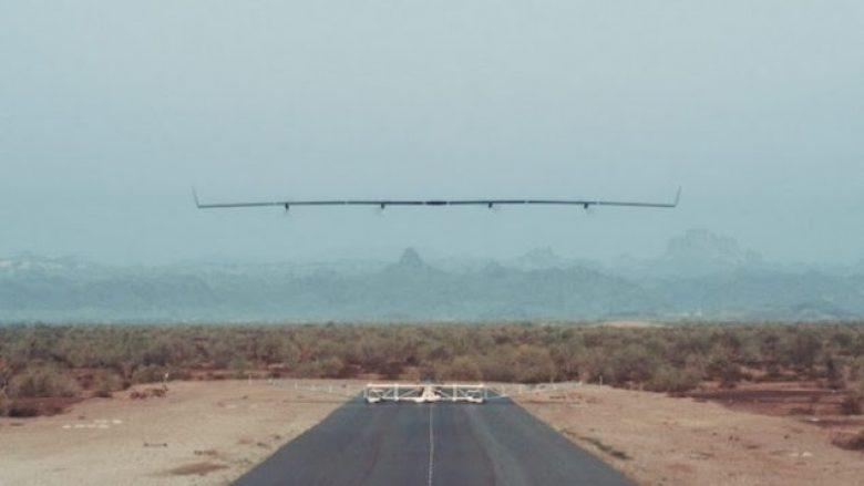 Facebook teston helikopterin-dron për qasje në internet (Foto)