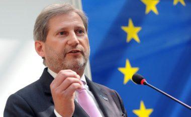 Hahn për deklaratat e Ramës e Thaçit: E gabueshme nëse mendohet se 'mund të bëhet trysni ndaj BE-së'