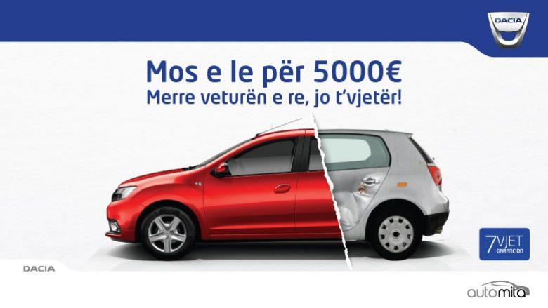 AutoMita: Parapaguaj vetëm 3,990 euro dhe merr veturën re