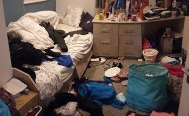 Duket e bukur në fotografi, por dhoma saj lë shumë për të dëshiruar (Foto)
