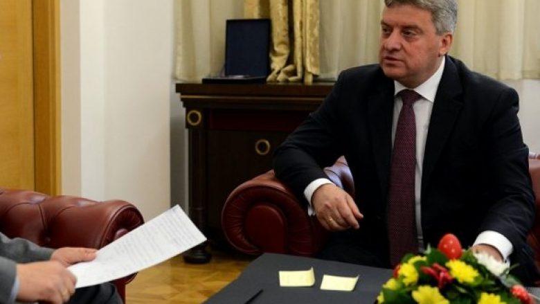 Ribalanci i buxhetit në pritje të nënshkrimit të kryetarit Ivanov