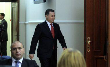 Gruevski jep vërejtjet e tij për programin dhe stafin qeveritar të Zaevit (Video)