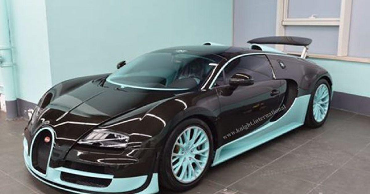 I vetmi Bugatti Veyron nga edicioni Tiffany  kërkon një pronar  shumë  të pasur