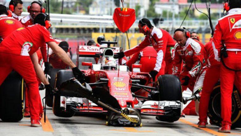 F1: Ferrari dominon në prova zyrtare