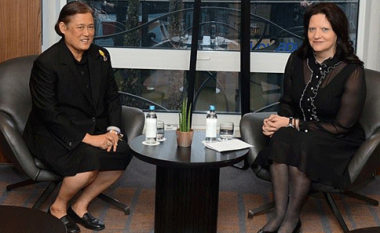 Princesha e Tajlandës për vizitë në Maqedoni, takohet me gruan e presidentit